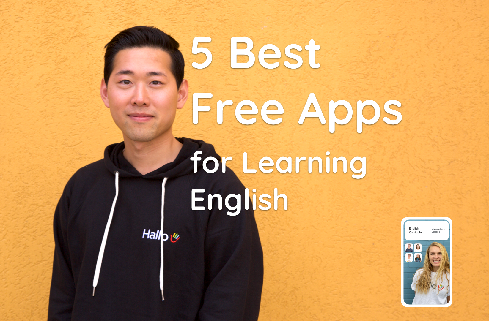 Top 5 Best Free Apps for Learning English